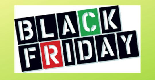 Aprovecha el Black Friday!